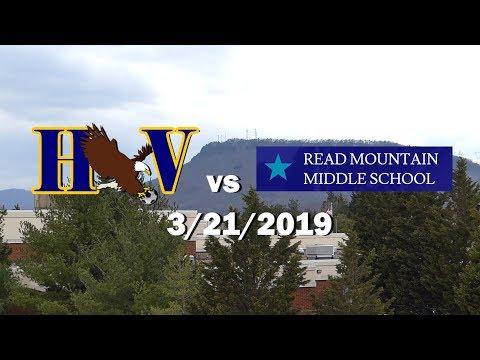 HVMS v Read Mountain Middle School -3/21/2019 FULL GAME