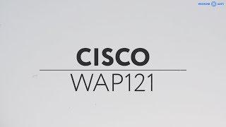 Обзор точки доступа CISCO WAP 121 в 4K