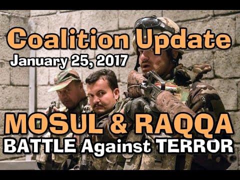 CJTF: MOSUL/RAQQA w/CC: 1-25-17: Army Updates & Press Q&A From Baghdad.