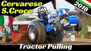 Tractor Pulling Cervarese Santa Croce 2018 - ITPO - Full Race, Explosions, Flames & Pure Sound!
