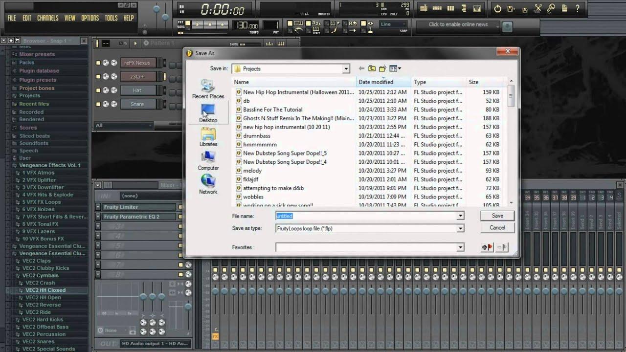 FL Studio Tutorial | How To Create Your Own FL Studio Templates ...