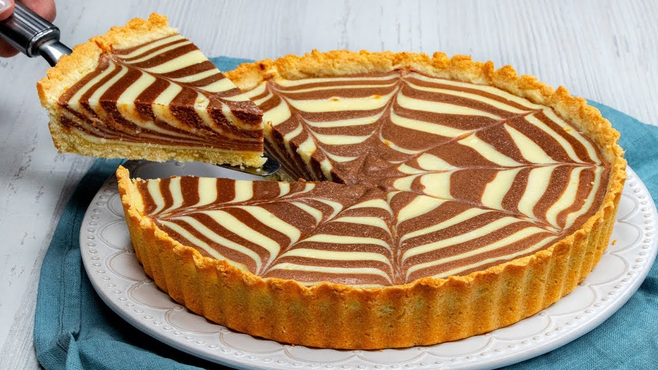 Arata atat de bine incat nici nu te induri sa o tai – tarta cu nutella in 2 culori | SavurosTV