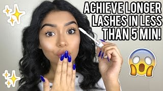 Get Longer Lashes Instantly | Daisy Marquez
