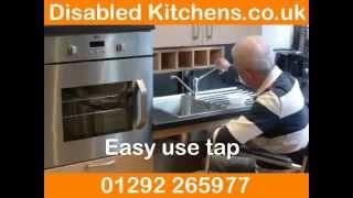 Handicapped Kitchens And Handicap Kitchen Design