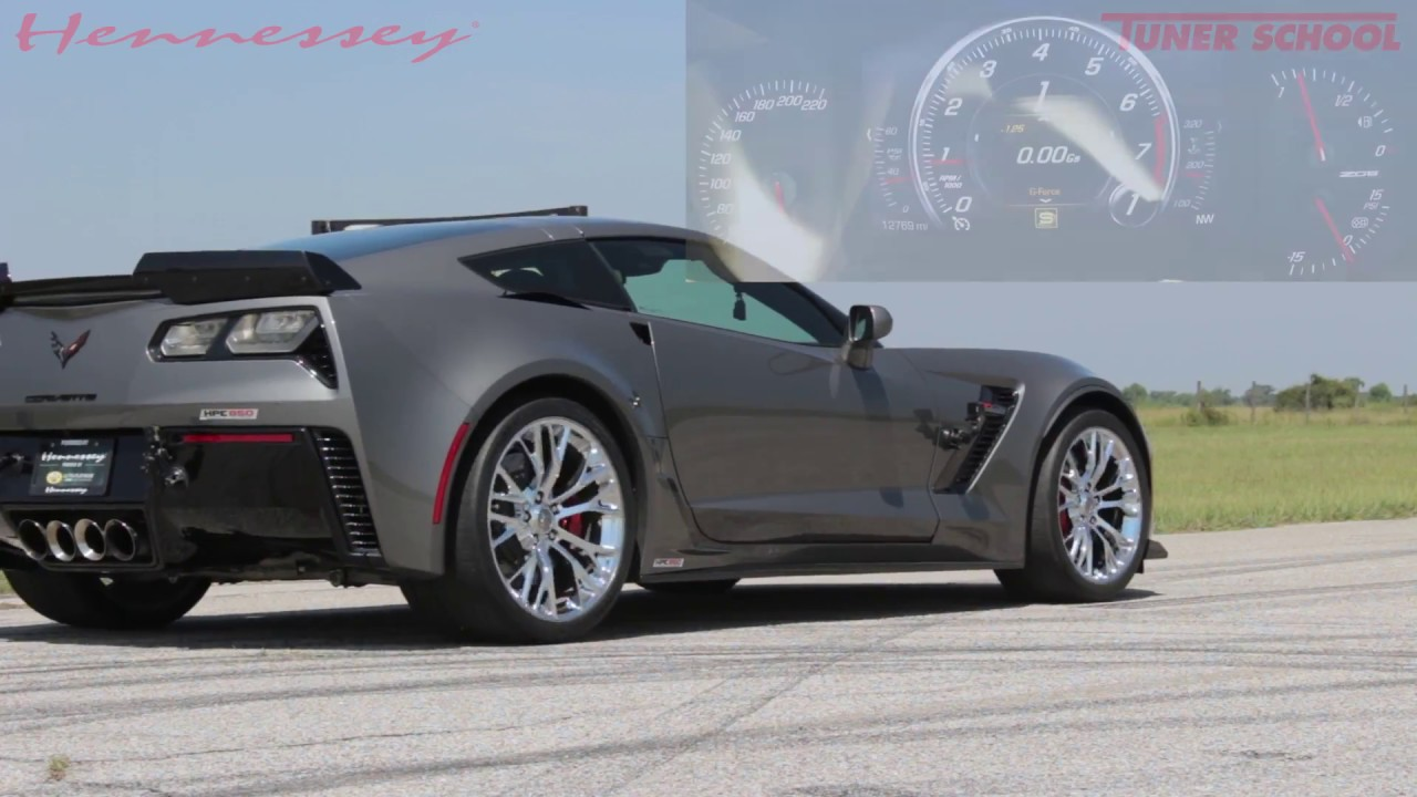 Corvette Z06 HPE850 Engine Upgrade | Hennessey Performance