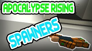 TAKING OUT 3 SPAWNERS - France Apocalypse Rising (1.) Roblox
