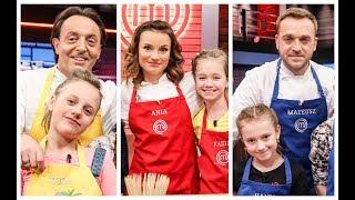 Ania, Michel i Mateusz tym razem musieli poradzić sobie w roli kapitanów grup  [MasterChef Junior]