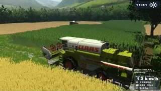 landwirtschafts simulator 2009 claas mega 208 ifa w50 mp4
