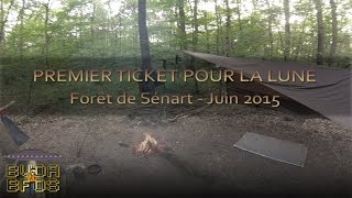 Premier ticket pour la lune - Ticket to the Moon hammock & DD Tarp 3x3 [Eng & FR sub]