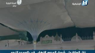 بالفيديو.. ولي عهد السعودية يؤدي صلاة الجنازة على شهداء الإرهاب