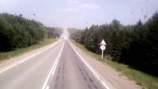 видео Зимник г.Мирный - г.Усть-Кут 03.2014г.