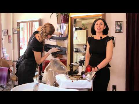 Коричневая хна - мастер-класс по окрашиванию волос