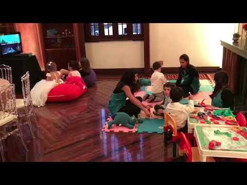 Espaço Kids em Casamento no Palácio dos Cedros