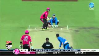 all 16 of nic maddinson s sixes from bbl 04