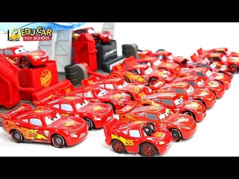 Thumbnail: Learning Color Numbers Special Disney Pixar Cars Lightning McQueen Mack Truck for kids car toys