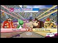 Mario & Sonic At London 2012 Olympic Games Beach Volleyball Part 21 Team Yoshi, Dr Eggman Gameplay