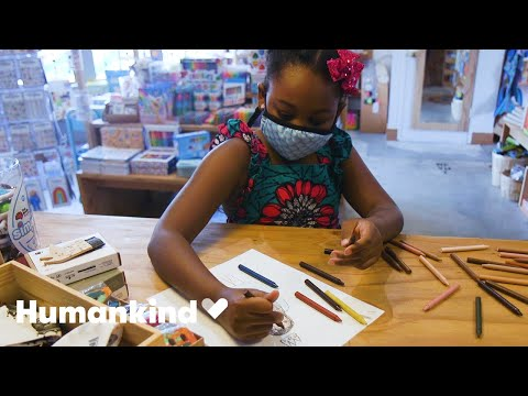 3rd grader creates multicultural crayons | Humankind