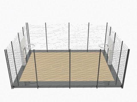 3DS Max Basketball Court And Ball Design new beginner tutorial-19