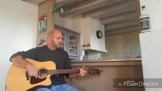 Hommage Johnny Je te promets cover guitare