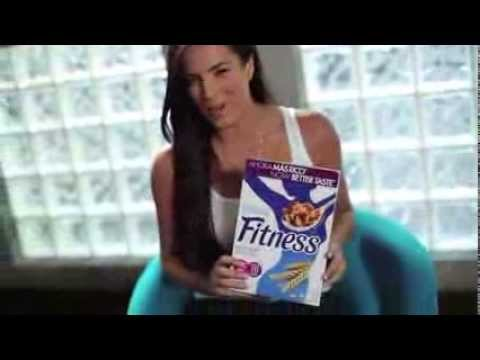 Gaby Espino - Nestlé Fitness (Spot)