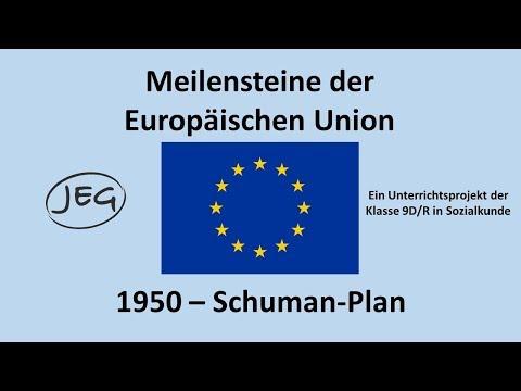 Meilsensteine der EU: 1950 - Der Schuman Plan
