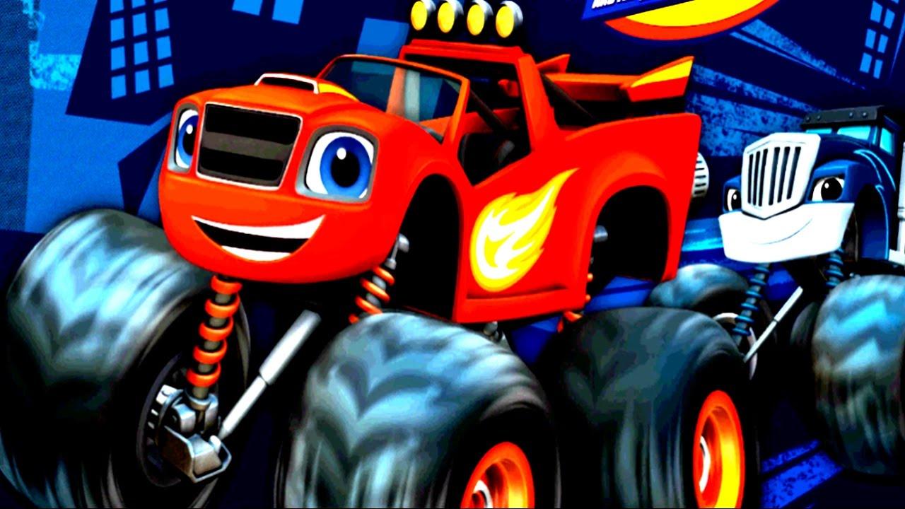 Blaze and the monster machines nickelodeon cartoon racing for Blaze cartoni