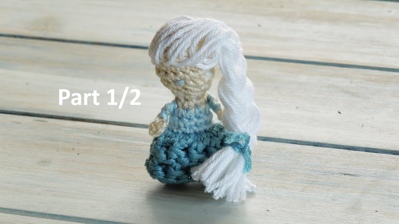 (crochet) Pt1: How To Crochet A Mini Princess Doll (fiddly!!)  Yarn Scrap  Friday  Youtube