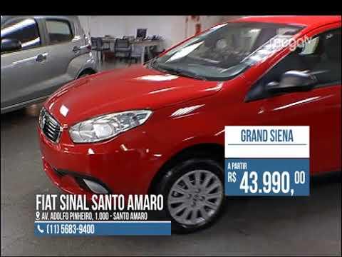 Fiat Sinal Santo Amaro na Mega TV