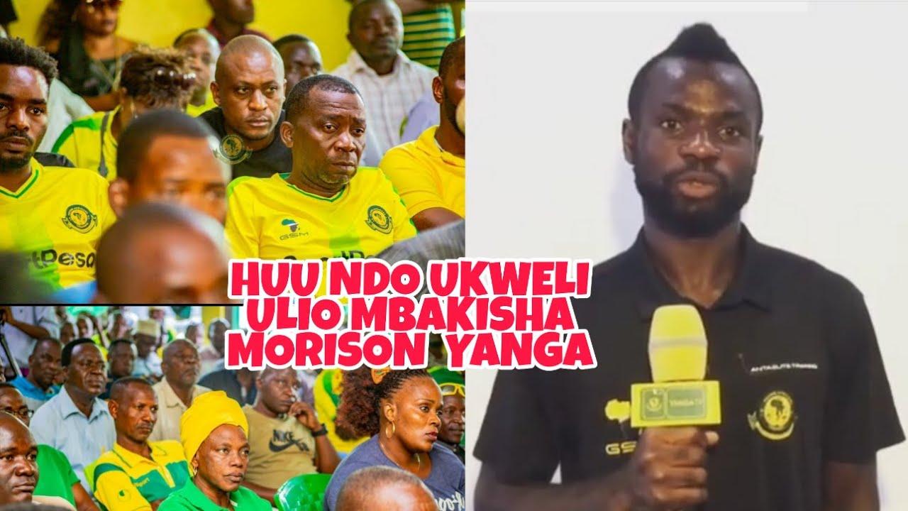 Sababu iliyopelekea Yanga Sc Kushindwa Kumtema Bernard Morrison Hii Hapa Ukweli Wote Waanikwa