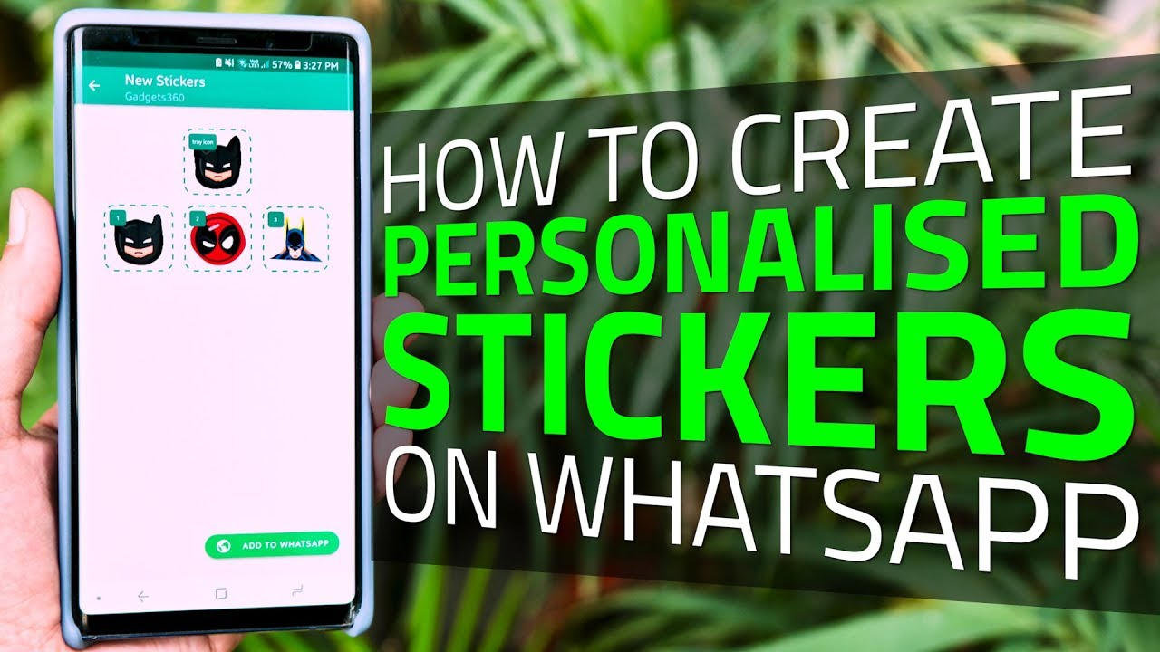 How to create personalized stickers on whatsapp you can make your own stickers