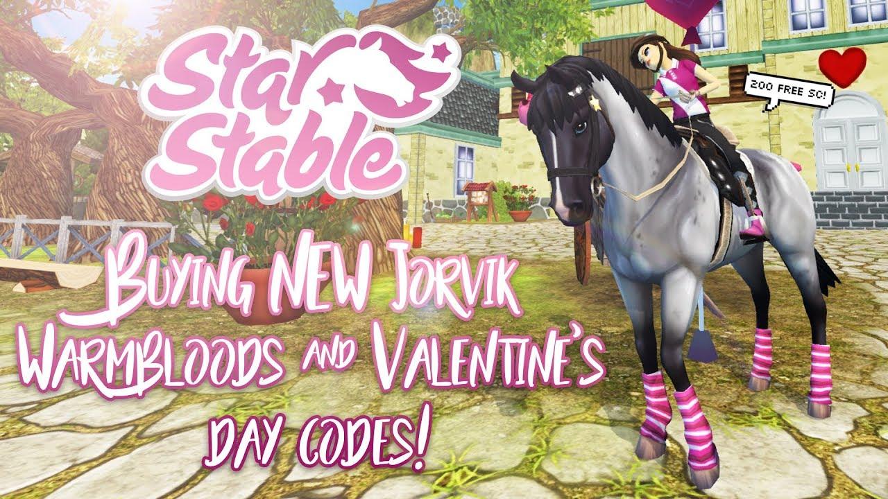 Buying NEW Jorvik Warmbloods & Valentine's day CODES!   Star