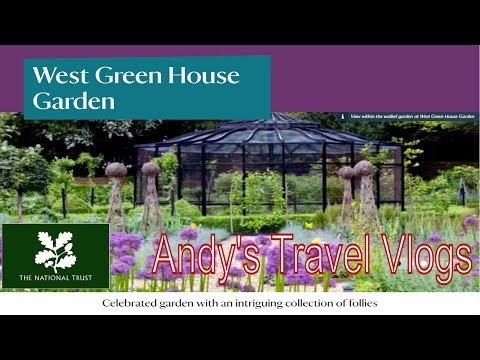 Andy's National Trust Travel Blogs: West Green House Garden, Hook, Hampshire