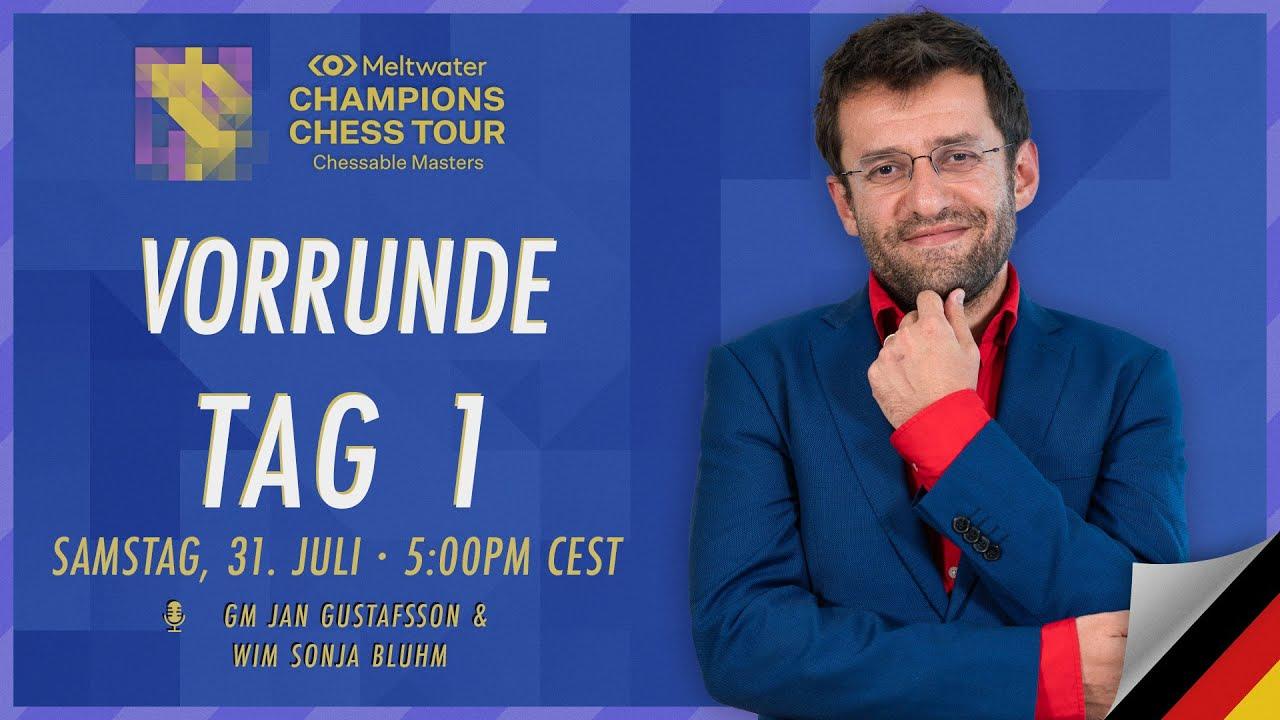 Download Chessable Masters | Vorrunde Tag 1 mit Jan und Sonja | $1,6M MCCT