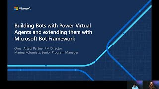 Building Bots with Power Virtual Agents and extending them with Microsoft Bot Framework | OD237