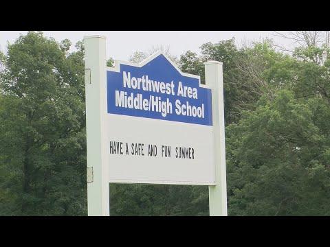 Northwest Area High School Fire