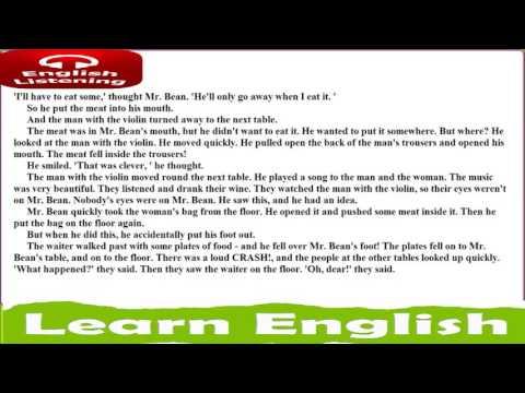 Aprende inglés escuchando ● Mr Bean in Town ● Richard Curtis