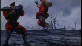 Street Fighter - Ryu and Ken vs Bison