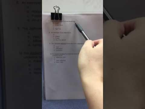 Poetry Background Quiz