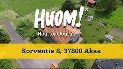 HUOM! Asuntoesittely - Korventie 8, 37800 Akaa