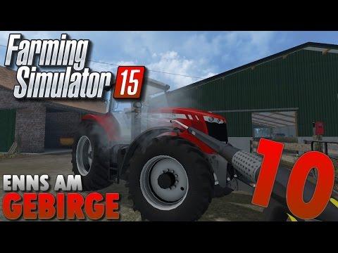 Farming Simulator 15 | Enns Am Gebirge #10 Petite matinée à la ferme OKLM !