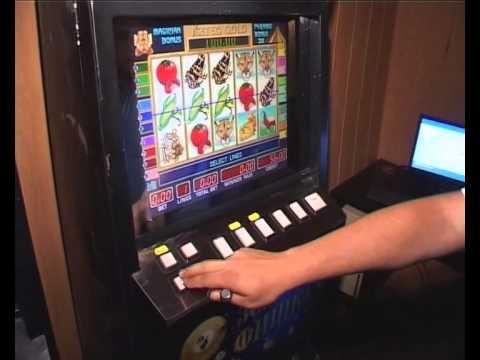 Изъятие игровых автоматов
