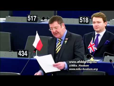 Expansionist EU propping up corrupt government in Ukraine - Mike Hookem MEP