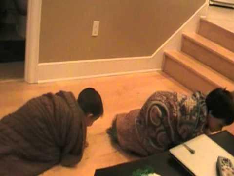 Noah & Eli The Caterpillars...