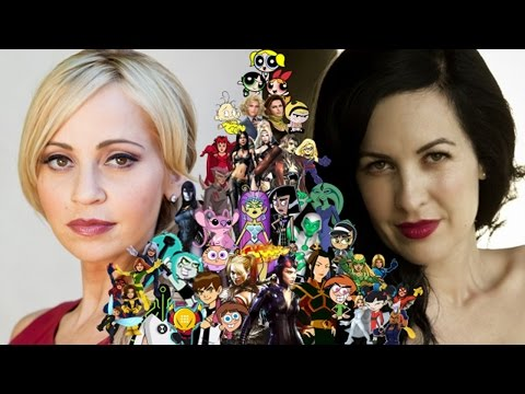 Voice Connections  Tara Strong & Grey Griffin