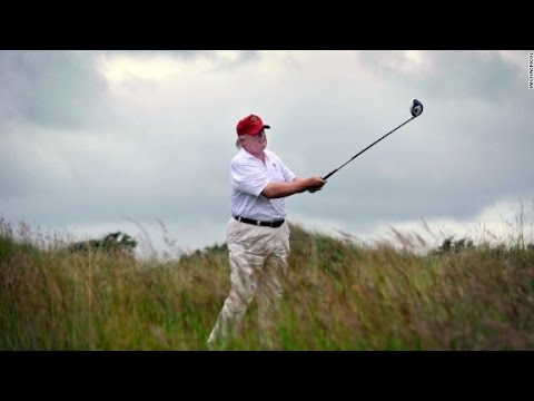 Trump golfs a lot despite his criticism of Obama golfing