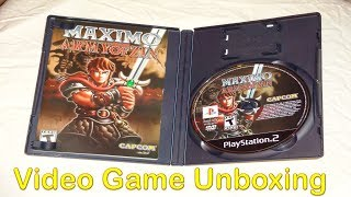 Maximo Vs Army of Zin - Video Game Unboxing