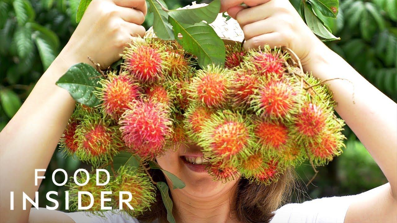13 extraordinary fruits around