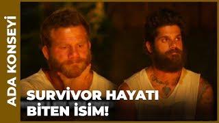 Survivor'a Veda Eden İsim Belli Oldu - Survivor 106. Bölüm