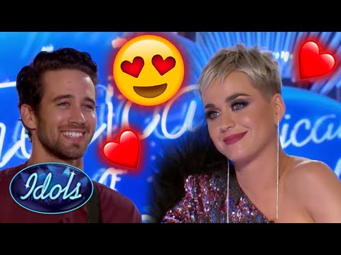 KATY PERRY FALLS IN LOVE | Idols Global
