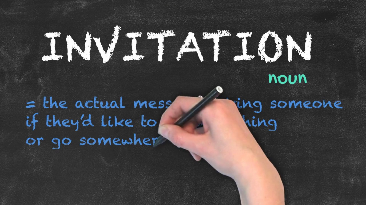 Invite vs invitation ask linda english grammar youtube invite vs invitation ask linda english grammar stopboris Images